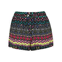 Buy Miss Selfridge Aztec Geo Print Shorts, Assorted Online at johnlewis.com