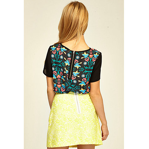 Buy Sugarhill Boutique Dahlia Skirt, Yellow Online at johnlewis.com