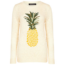 Buy Sugarhill Boutique Pineapple Jumper, Cream Online at johnlewis.com
