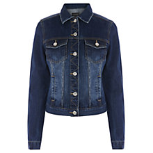 Buy Warehouse Western Jacket, Indigo Denim Online at johnlewis.com