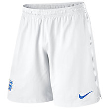 Buy Nike Men's England Home Shorts 2014 Online at johnlewis.com