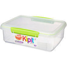 Buy Sistema Klip It Rectangle Food Storage Container Online at johnlewis.com