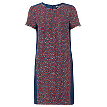 Buy Jigsaw Tribal Linton Tweed Dress, Blue Online at johnlewis.com