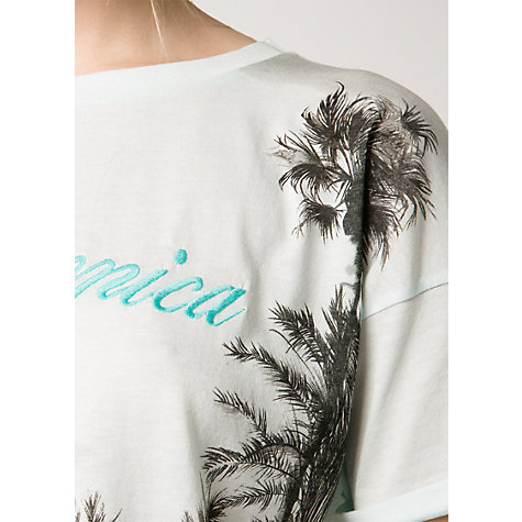 Buy Mango Santa Monica T-Shirt, Water Online at johnlewis.com