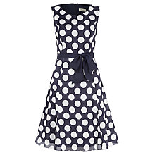 Buy Precis Petite Polka Dot Dress, Multi Dark Online at johnlewis.com