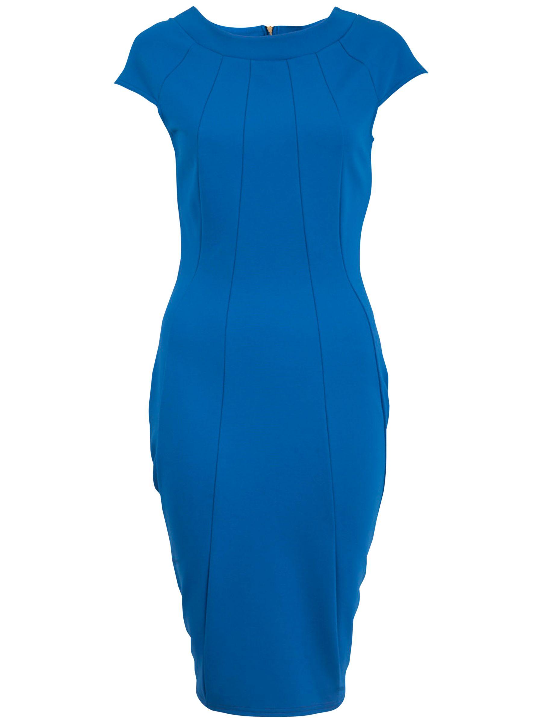 almari panelled ponte dress blue, almari, panelled, ponte, dress, blue, 10 12 14 8, women, womens dresses, special offers, womenswear offers, womens dresses offers, 1423299