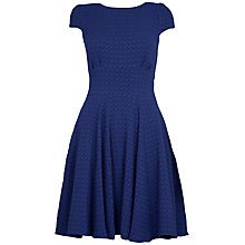 Buy Almari Cap Sleeve Godet Dress Online at johnlewis.com