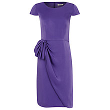 Buy Precis Petite Statement Dress, Cerise Online at johnlewis.com