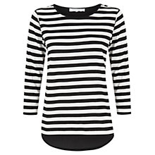 Buy Fenn Wright Manson Sindy Stripe Top, Black/White Online at johnlewis.com