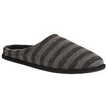 Buy Kin by John Lewis Stripe Mule Slippers Online at johnlewis.com