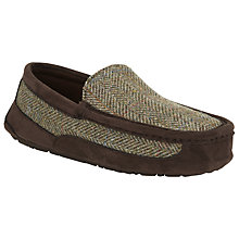 Buy JOHN LEWIS & Co. Harris Tweed Moccasin Slippers Online at johnlewis.com