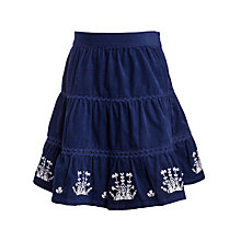 Buy John Lewis Girl Tiered Embroidery Border Skirt Online at johnlewis.com