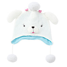 Buy John Lewis Poodle Hat, Cream Online at johnlewis.com