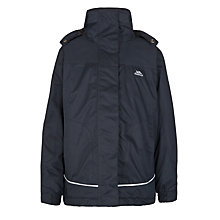 Buy Trespass Children's Tenby Jacket, Navy Online at johnlewis.com