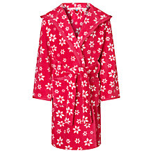 Buy John Lewis Girl White Star Fair Isle Gown, Red Online at johnlewis.com