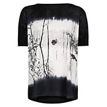 Buy Mango Faded Forest Landscape T-Shirt Online at johnlewis.com