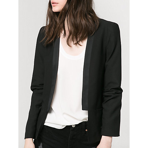 Buy Mango Satin Edge Blazer Online at johnlewis.com