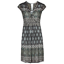 Buy Sandwich Crinkle Print Dress, Storm Green Online at johnlewis.com