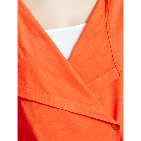 Buy Sandwich Slub Cotton Wrap Jacket, Royal Orange Online at johnlewis.com