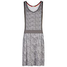 Buy Sandwich Ikat Print Dress, Stone Grey Online at johnlewis.com