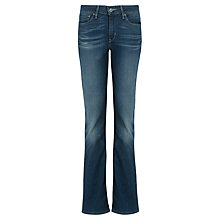 Buy Levi's Curve ID - Demi Curve Bootcut Jeans, Clear Water Online at johnlewis.com