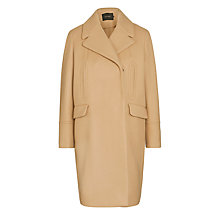 Buy Tara Jarmon Wide Collar Coat, Camel Online at johnlewis.com