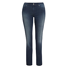 Buy Levi's Demi Curve Slim Jeans, Worn Onyx Online at johnlewis.com