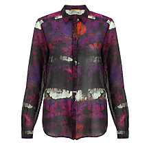 Buy BOSS Orange Floral Print Shirt, Multi Online at johnlewis.com