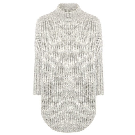 Hugo Boss Chunky Knit Grey Jumper