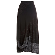 Buy Crea Concept Knitted Bubble Skirt, Black Online at johnlewis.com