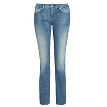 Buy Levi's Slight Curve Straight Leg Jeans, Sandwash Shell Online at johnlewis.com