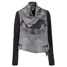 Buy Crea Concept Biker Jacket, Grey Online at johnlewis.com