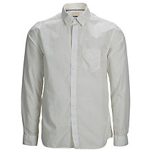 Buy Selected Home One Rock Long Sleeved Cotton Shirt, White Online at johnlewis.com