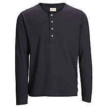 Buy Selected Homme Steve Long Sleeve Top, Blue Graphite Online at johnlewis.com