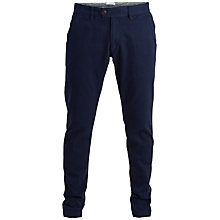 Buy Selected Homme Salt Club Trousers, Grey Online at johnlewis.com