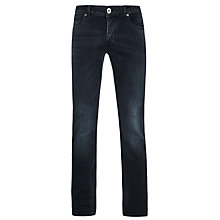 Buy Selected Homme Three Dean Straight Jeans, Dark Wash Online at johnlewis.com
