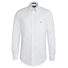Buy Gant Pinpoint Oxford Stripe Shirt Online at johnlewis.com