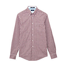 Buy Gant Poplin Gingham Shirt Online at johnlewis.com