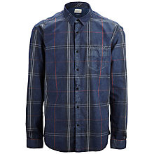 Buy Selected Homme One Face Shirt, Navy Online at johnlewis.com