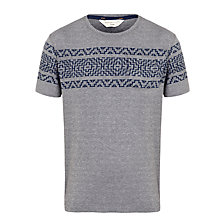 Buy Selected Homme Jacquard T-Shirt Online at johnlewis.com