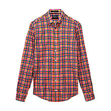 Buy Gant Multi Gingham Checked Cotton Shirt, Multi Online at johnlewis.com