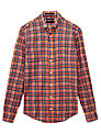 Gant Multi Gingham Checked Cotton Shirt, Multi