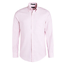 Buy Gant Chelsea Fine Stripe Oxford Shirt Online at johnlewis.com