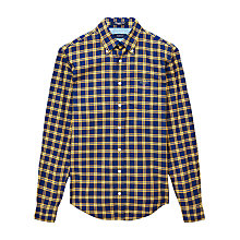 Buy Gant Wilmington Twill Checked Shirt Online at johnlewis.com