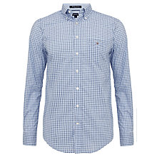 Buy Gant Two Colour Gingham Cotton Shirt Online at johnlewis.com
