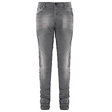 Buy G-Star Raw 3301 Slander Aged Washed Super Slim Jeans, Lt Age Destroy Online at johnlewis.com