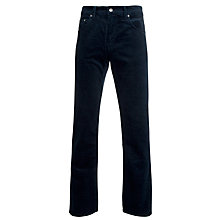 Buy Gant Jason 5 Pocket Corduroy Trousers, Navy Online at johnlewis.com