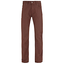 Buy Gant Jason Soft Twill Slim Fit Jeans, Brown Online at johnlewis.com