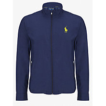 Buy Polo Golf by Ralph Lauren Core Windbreaker Jacket, French Navy Online at johnlewis.com