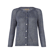 Buy Jigsaw Washed Linen Raglan Cardigan Online at johnlewis.com